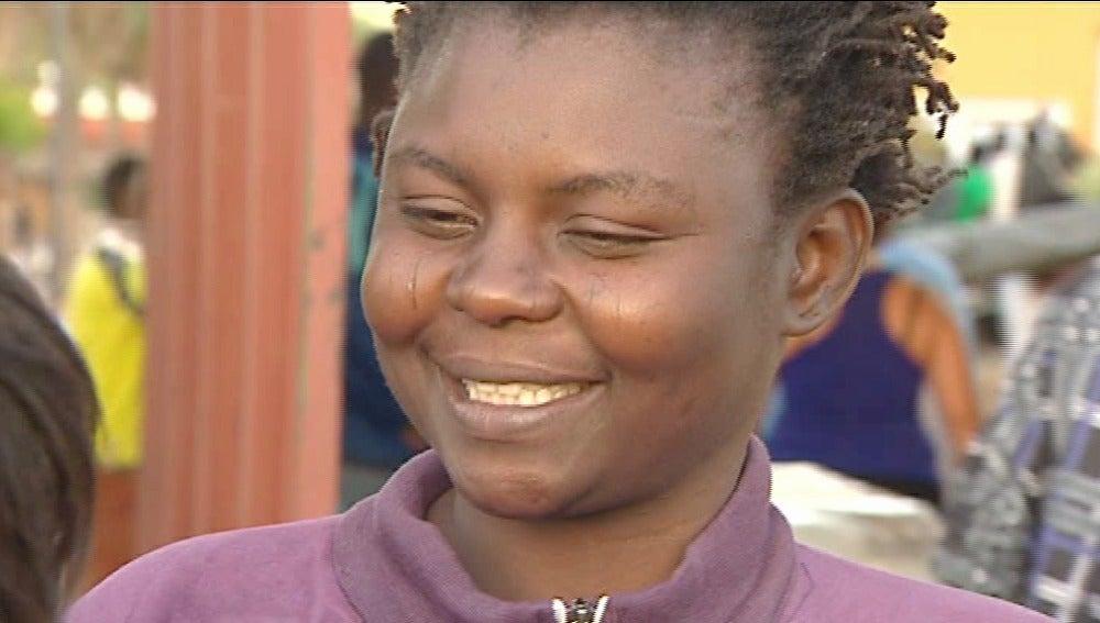 Astan Traore, una inmigrante camerunesa