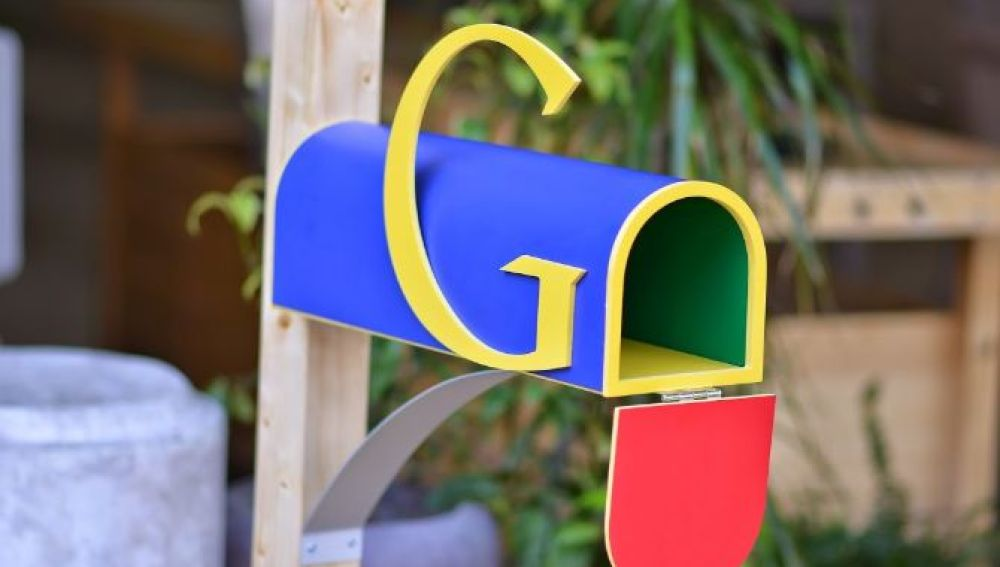 El buzón de la casa de Google