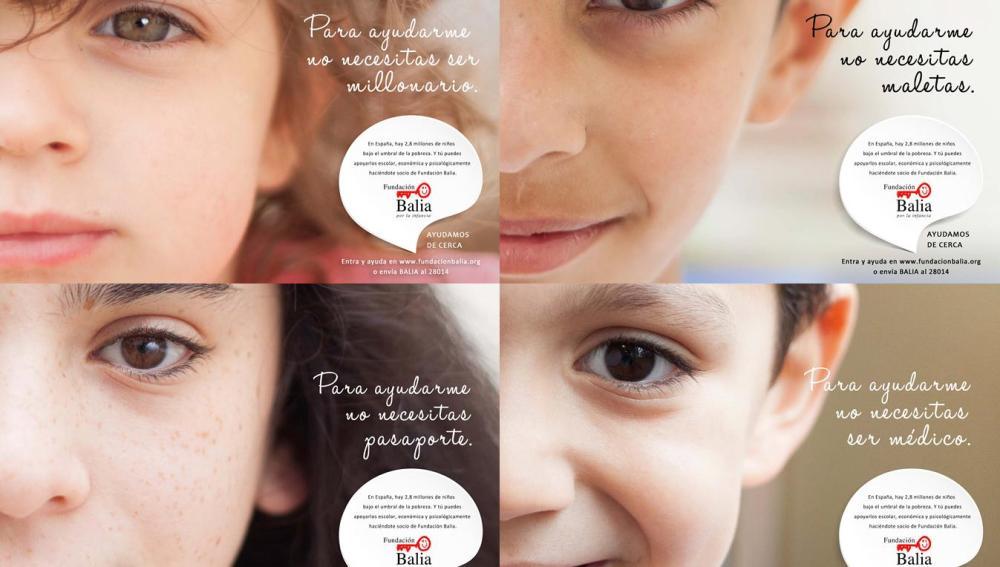 Fundación Balia, contra la pobreza infantil