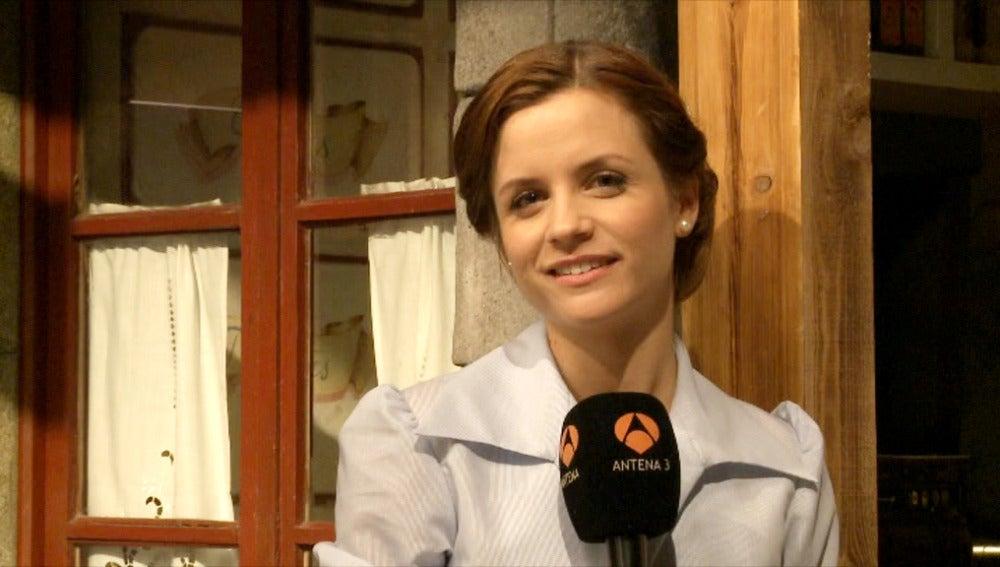 Paula Cancio: Espero estar a la altura de esta serie