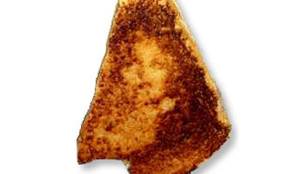 El sándwich de la Virgen. 28.000 dólares del ala se pagaron por él.