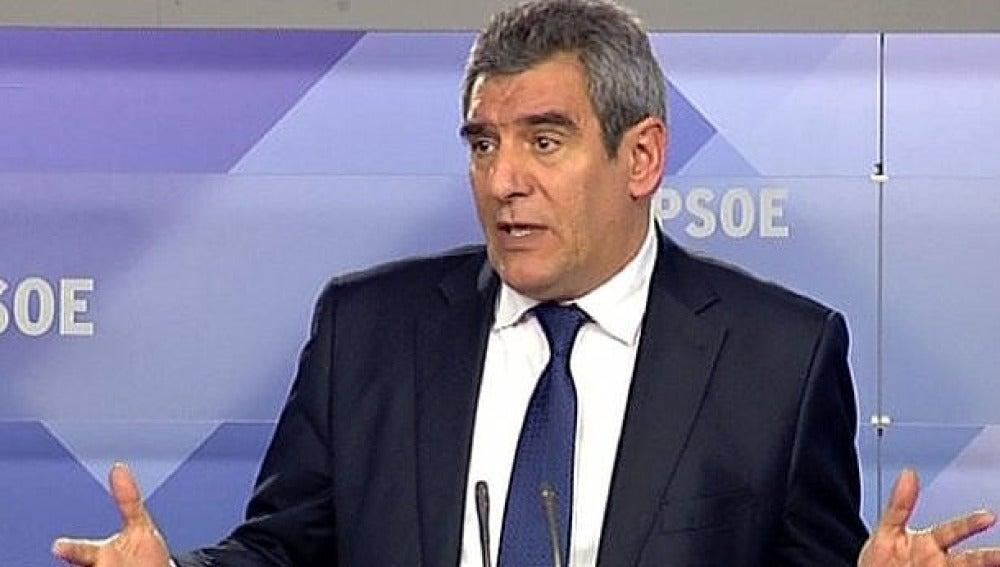 Secretario general del PSCyL, Julio Villarrubia.