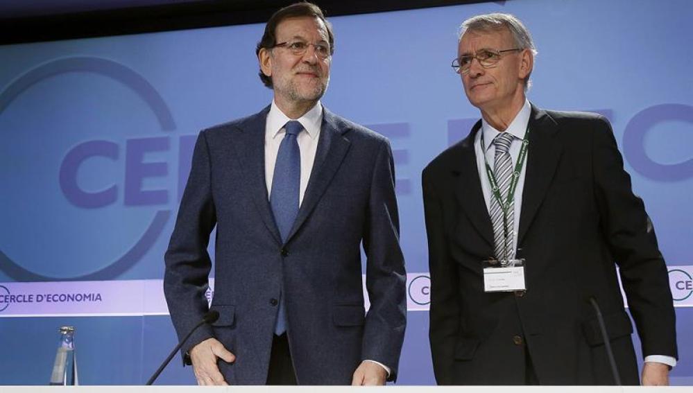 Mariano Rajoy en la XXX Reunión del Círculo de Economía