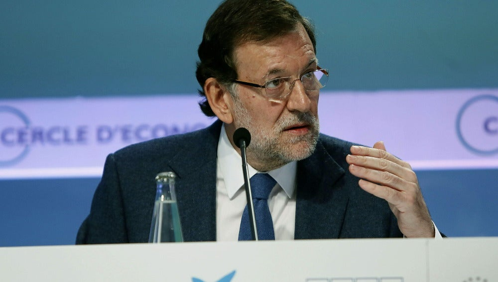 Mariano Rajoy, en el Círculo de Economía