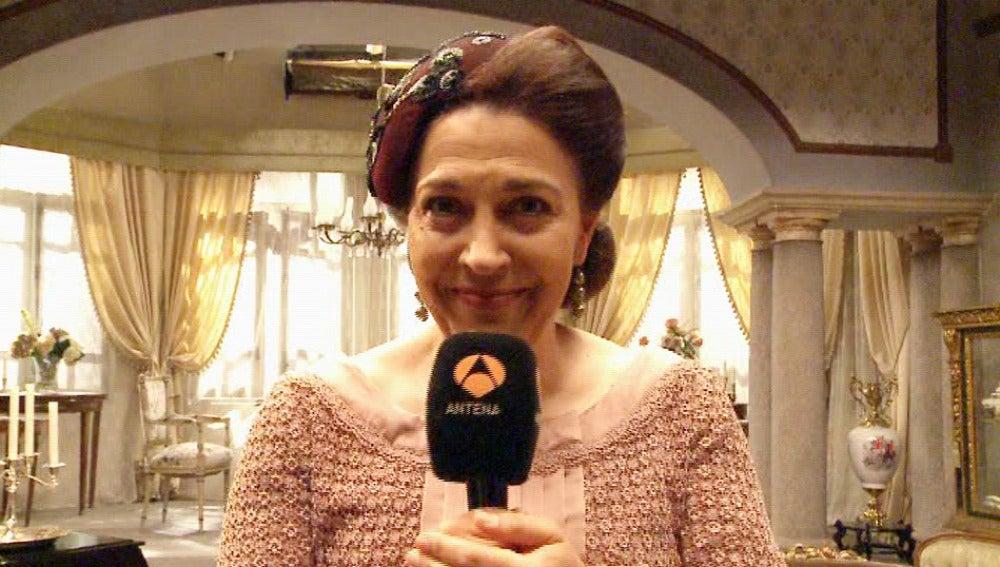 Francisca Montenegro te invita a que no te pierdas los capítulos de El secreto de Puente Viejo el próximo 9 y 10 de junio