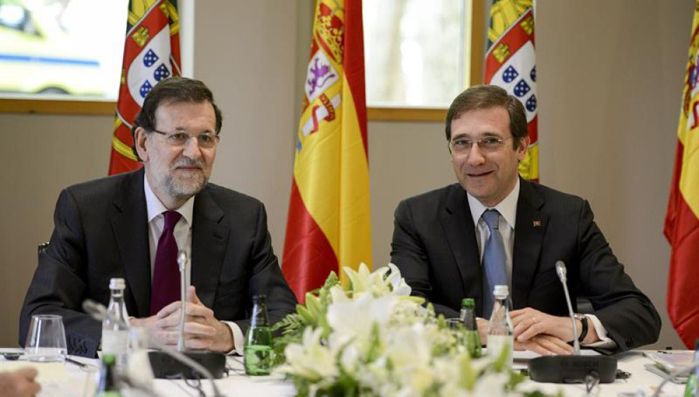 Rajoy y Passos Coelho en la XXVII Cumbre Hispano-Lusa.