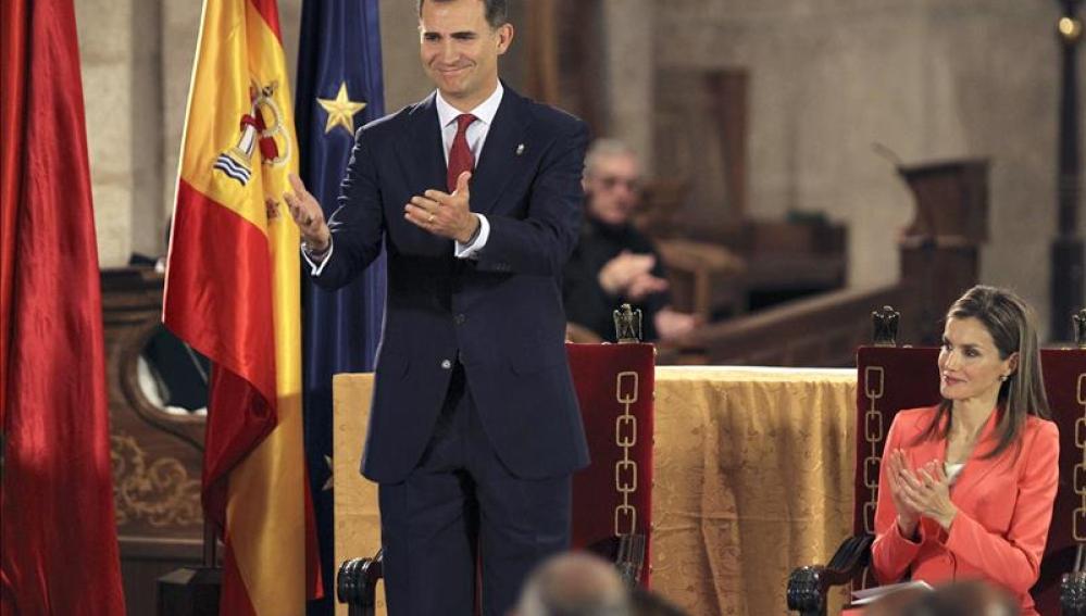 """Don Felipe dedicará sus fuerzas """"a servir a España como nación unida y diversa"""""""