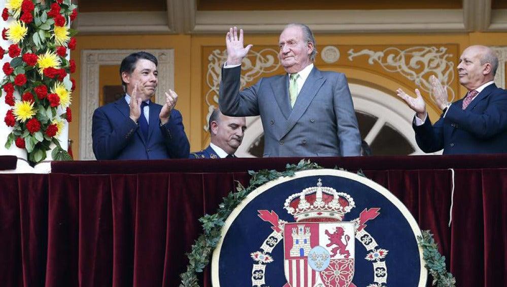 El Rey, emocionado, agradece la ovación en Las Ventas.