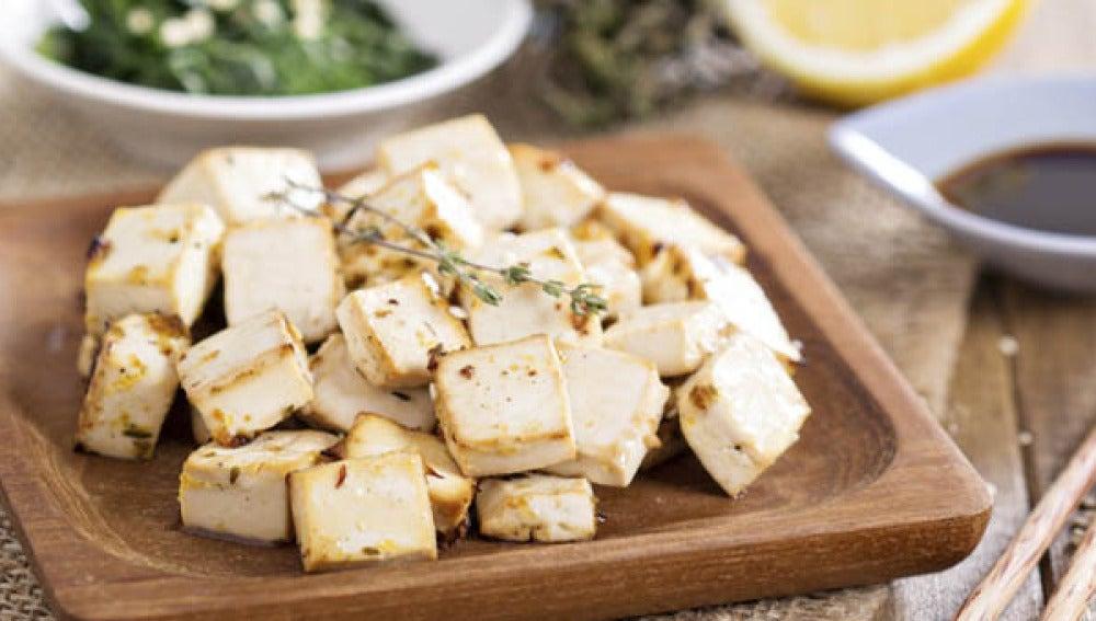El tofu, la carne vegetal más conocida.
