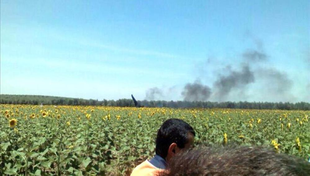 Accidente del Eurofighter en Morón