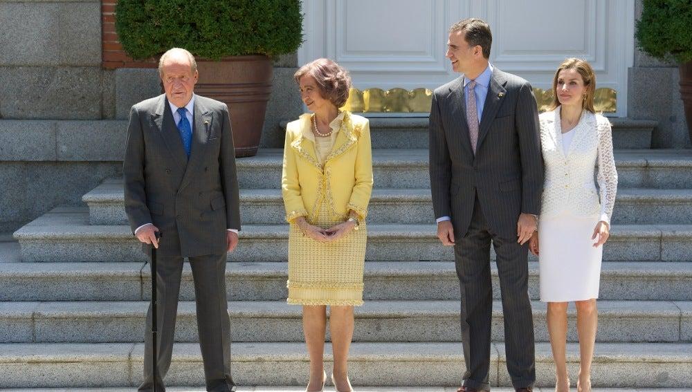 Visita en el Palacio Real