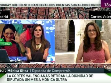 Mónica Oltra interviene en MVT
