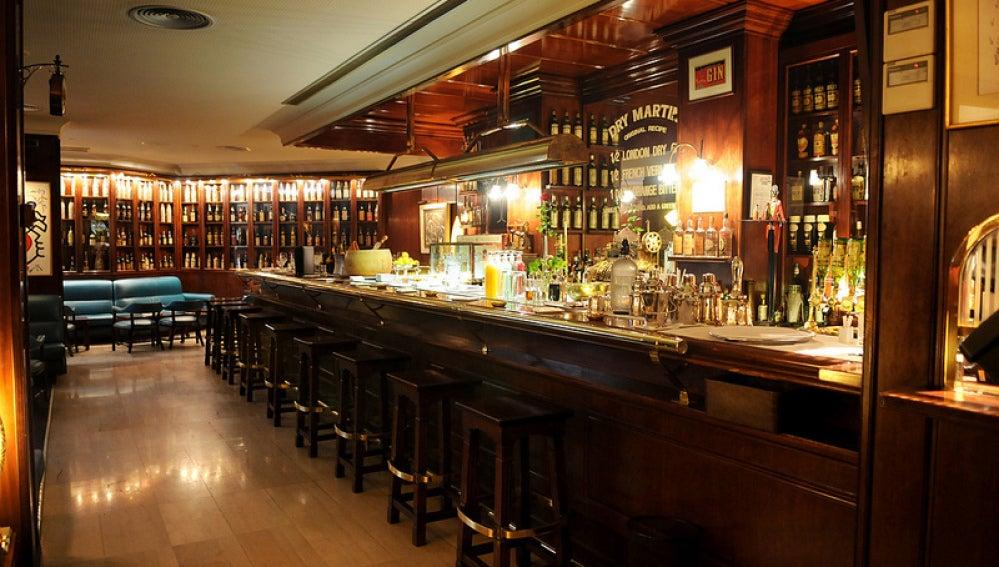 Dry Martini de Javier de las Muelas. Un bar para quedarse a vivir en él.