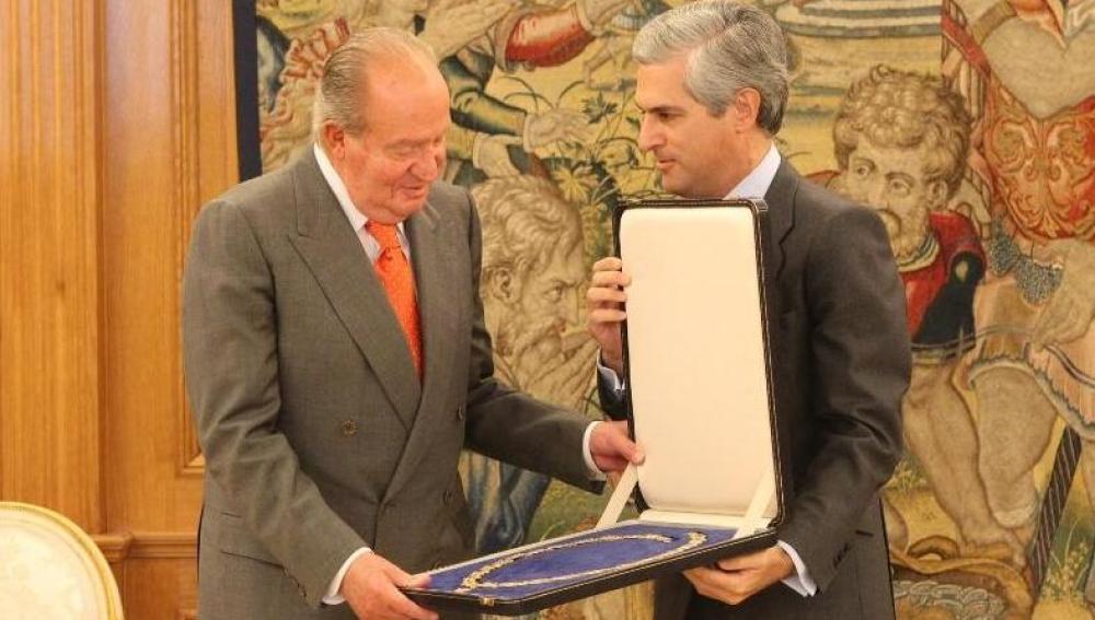 El Rey y Suárez Illana en la Zarzuela