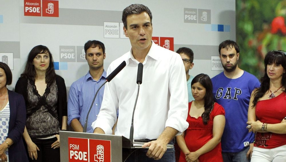 Pedro Sánchez, candidato a liderar el PSOE
