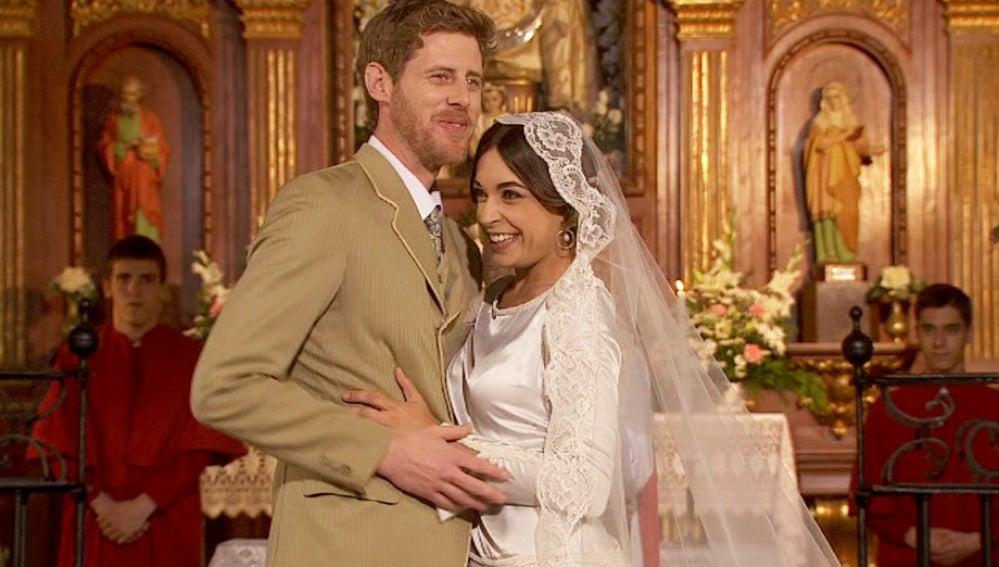 Mariana y Nicolás se casan