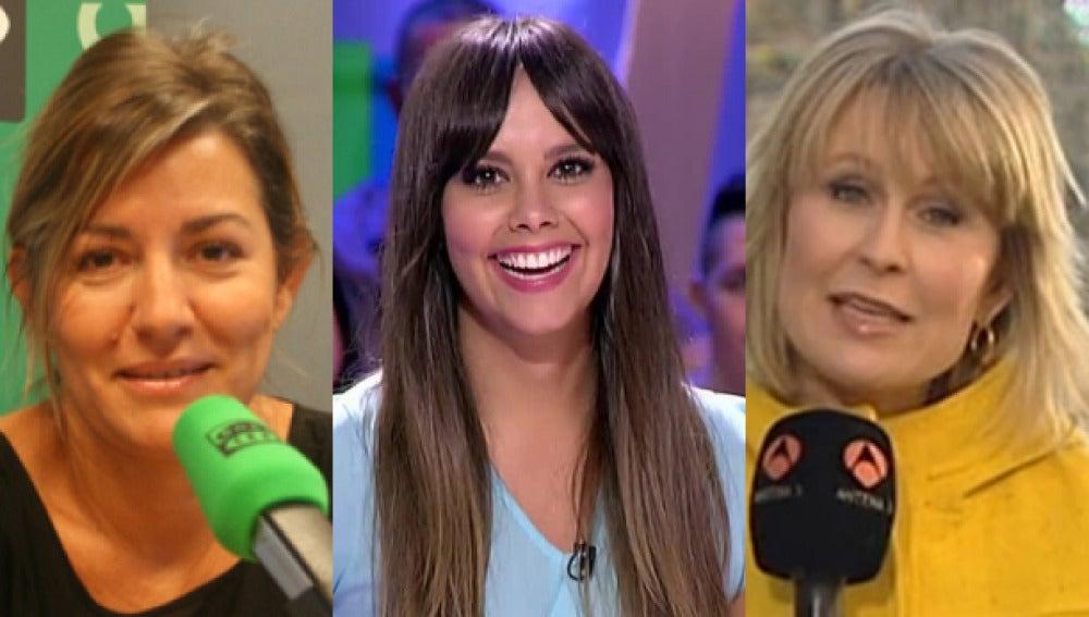 Cristina Pedroche, María Rey y Mercedes Pascua, galardonadas con el premio Antena de Plata 2014