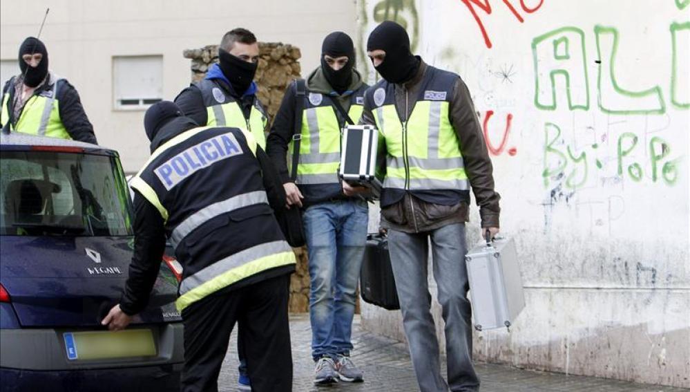 Ocho detenidos en Madrid