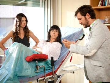 Sofía y Jorge con Eli