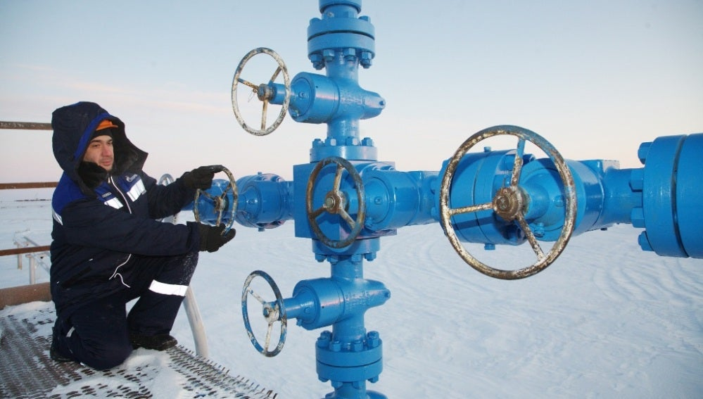 Suministro de gas de Gazprom