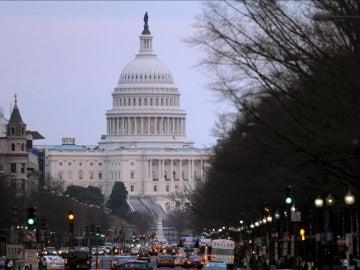 El Senado de EEUU.