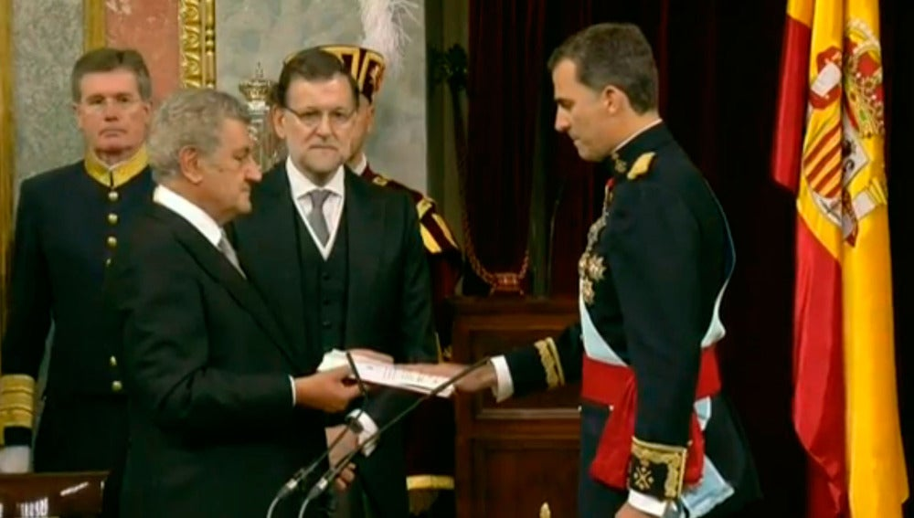 Felipe VI, proclamado Rey