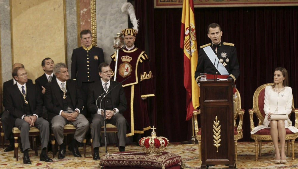Primer discurso de Felipe VI como Rey