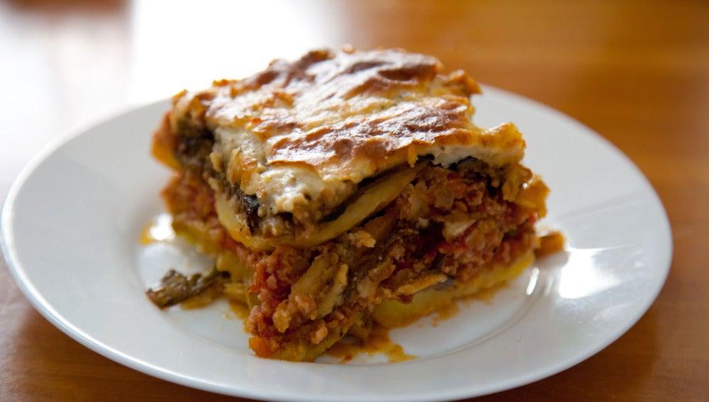 La musaka es uno de los platos estrella de la gastronomía griega.