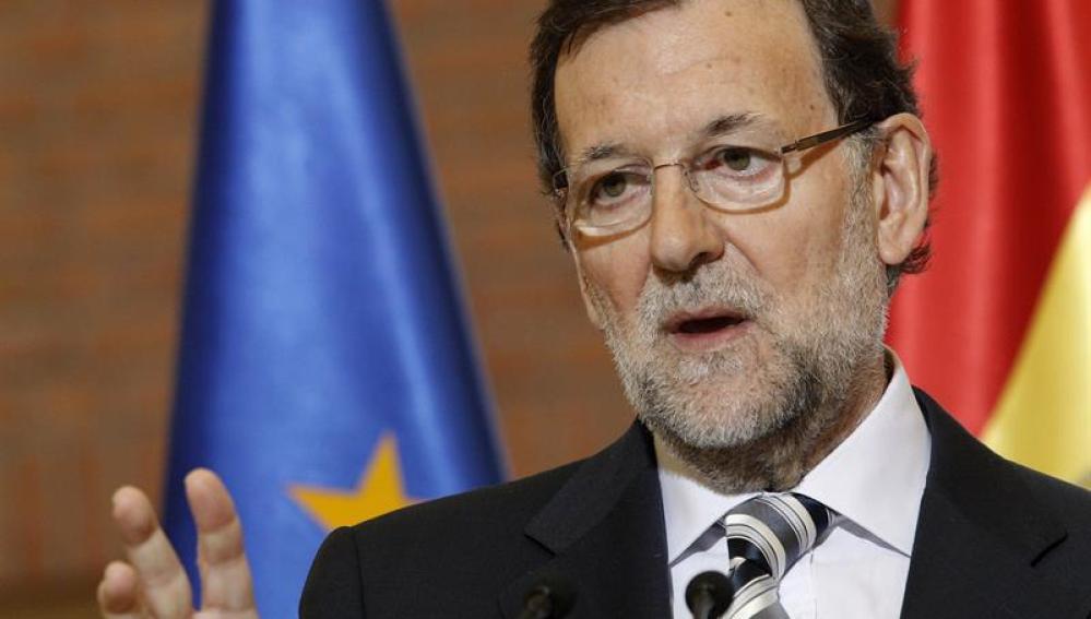 Mariano Rajoy en Polonia