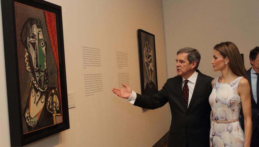 La reina Letizia en el Museo del Prado