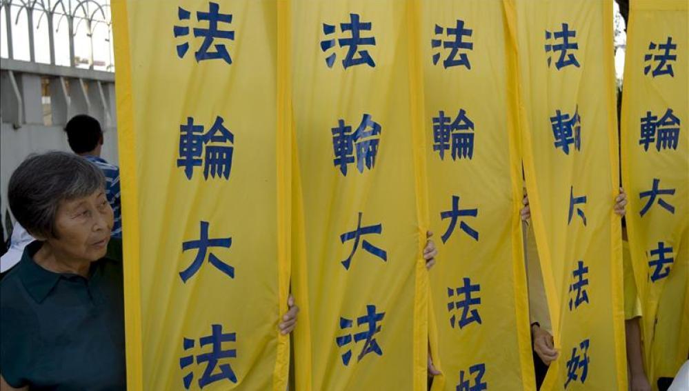 Manifestaciones en China