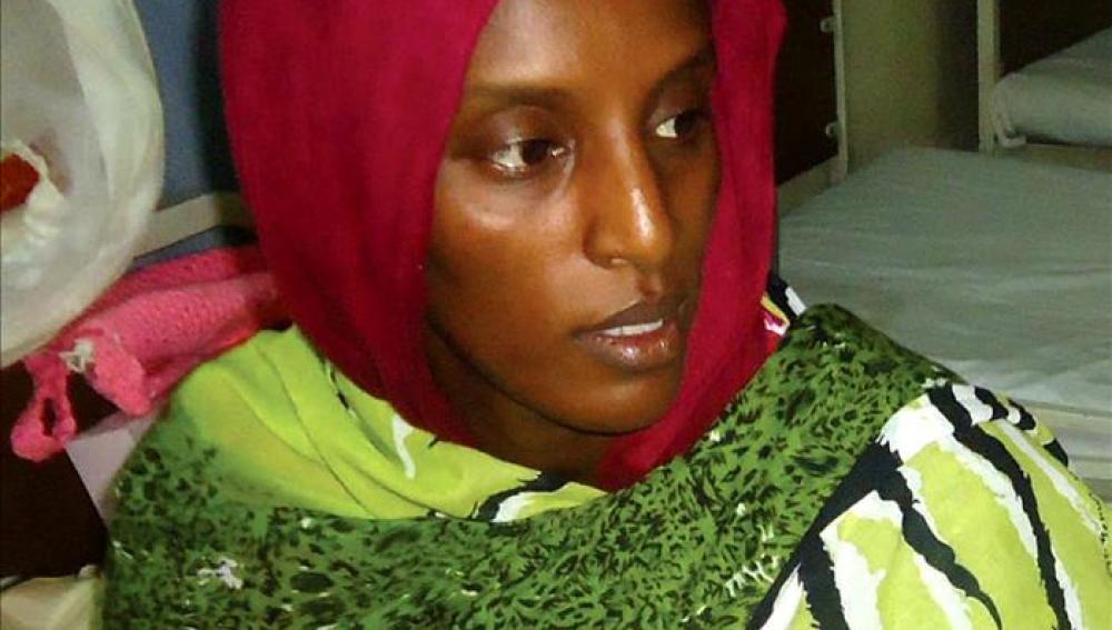 La joven sudanesa que había sido condenada a pena de muerte