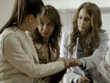 Amparo, Fernanda y María