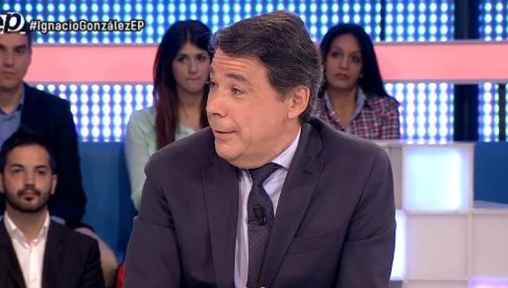 Ignacio González, en Espejo Público