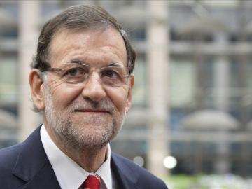 Rajoy elogia a Rubalcaba desde Bruselas