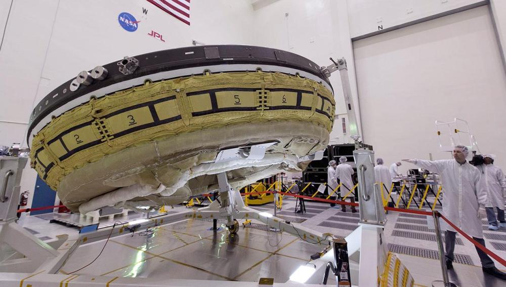 """La NASA pone a prueba un """"platillo volante"""" que podría llevar humanos a Marte"""