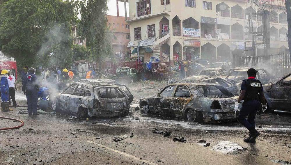 Atentado terrorista en Nigeria