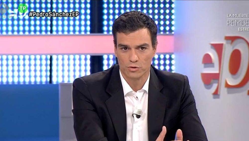Pedro Sánchez en Espejo Público