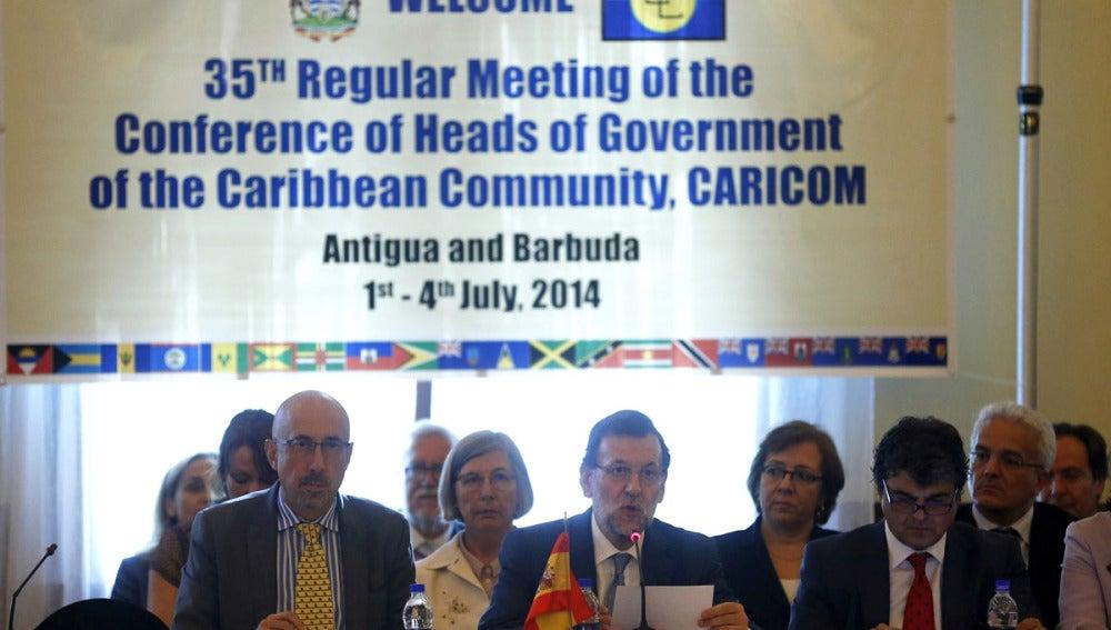 Mariano Rajoy interviene en XXXV Cumbre de Jefes de Gobierno de la Comunidad del Caribe