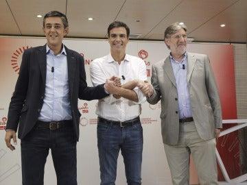 Los candidatos a liderar el PSOE, en el debate