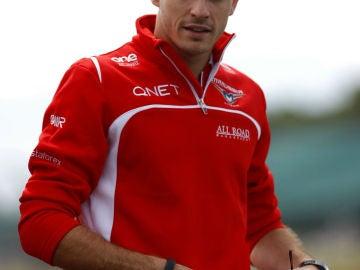 El piloto francés Jules Bianchi