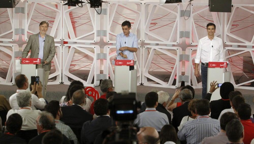 Candidatos a liderar el PSOE