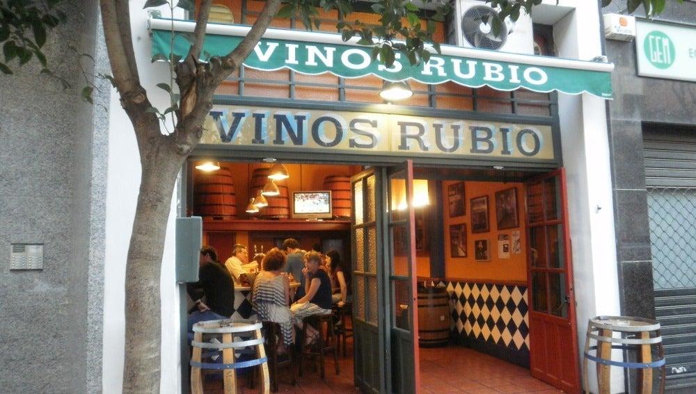 Vinos Rubio, todo un clásico en el que 'vermutear'.