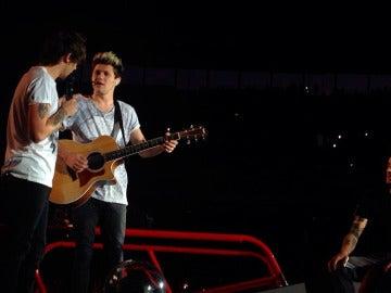 One Direction en su concierto de Barcelona