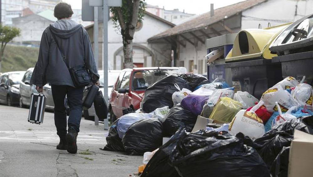 Se cumple un mes de la huelga de servicio de limpieza en Lugo