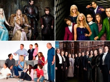 Series nominadas Premios Emmy 2014