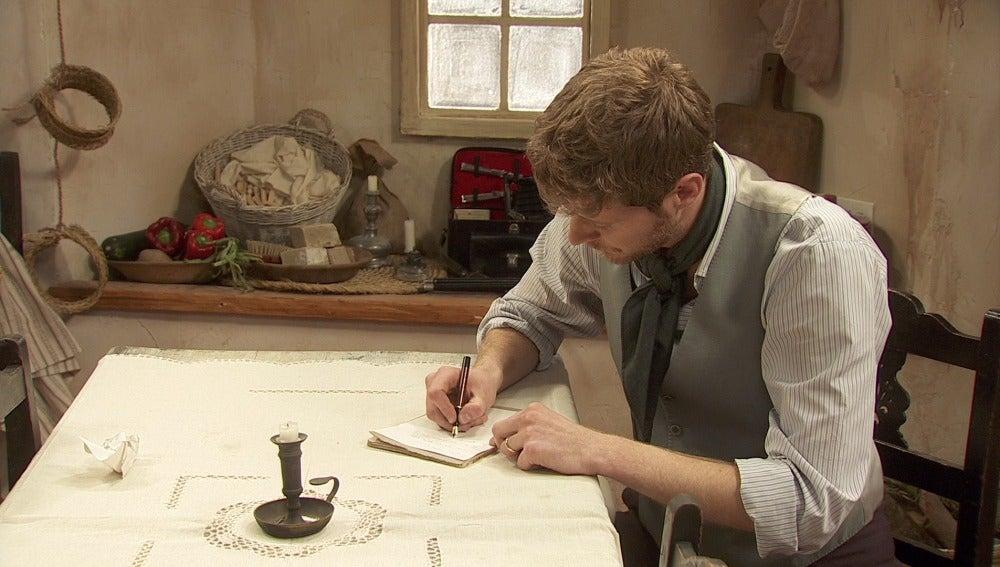 Nicolas le escribe a su madre