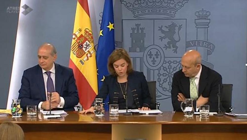 Sáenz de Santamaría, Fernández y Wert