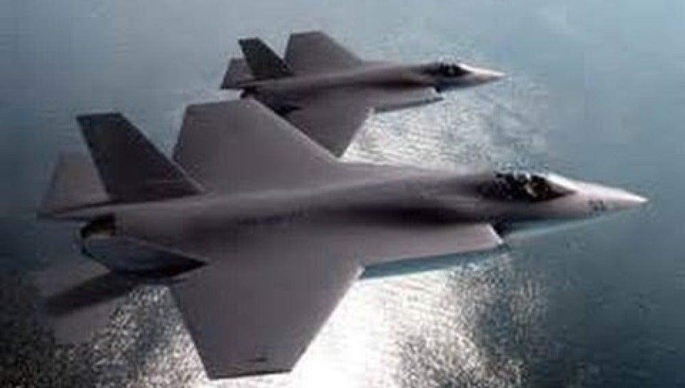 El caza F35, el más caro de la historia