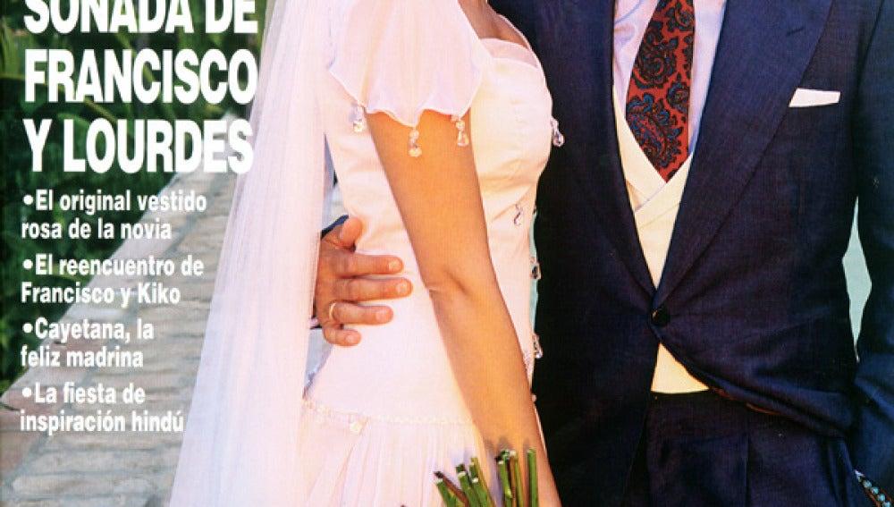La boda soñada de Francisco y Lourdes